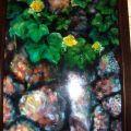 澎湖 蒙地卡羅咖啡-洪姐的畫作照片