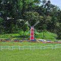 獨角仙休閒農場-風車造型裝飾照片