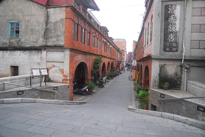 金門_模範街照片